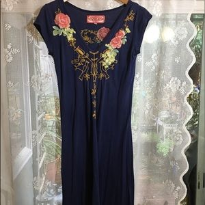 Johnny was Embroidered , midi Johnny was dress